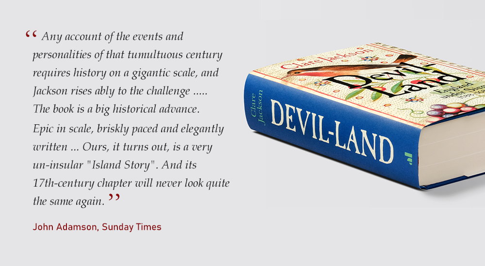 John Adamson's review of Devil Land for The Times
